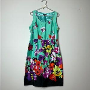 Spense Mint Floral Dress